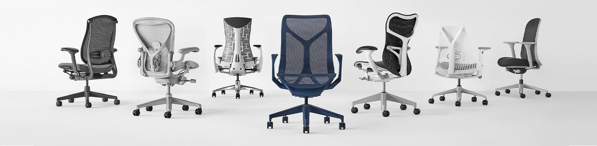 KT Interiorilta löytyy kattava valikoima ergonomisia työtuoleja