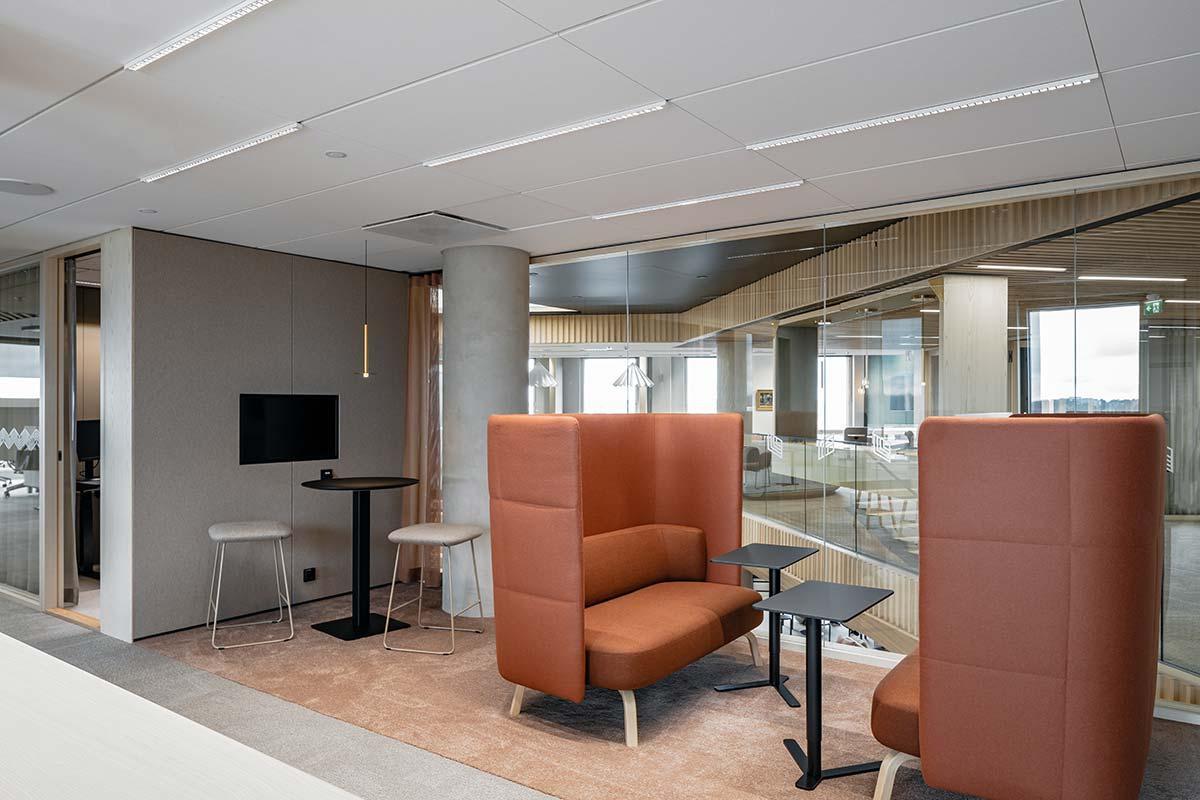 KT Interior referenssi Veritas toimistotilat.