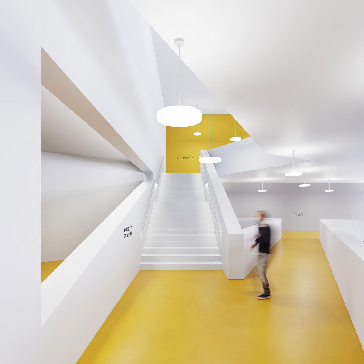 Regent Milano slim -valaisin arkkitehtoninen valaistus.
