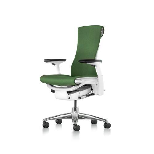 Herman Miller Embody työtuoli, vihreä.