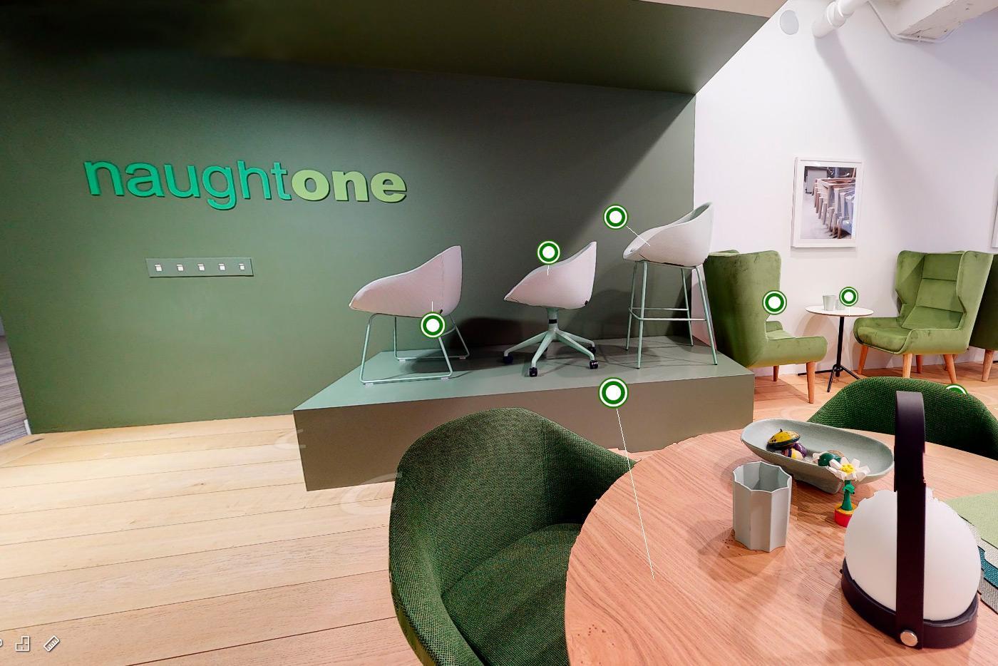 Tutustu Naughtonen tuotteisiin virtuaalisessa showroomissa.