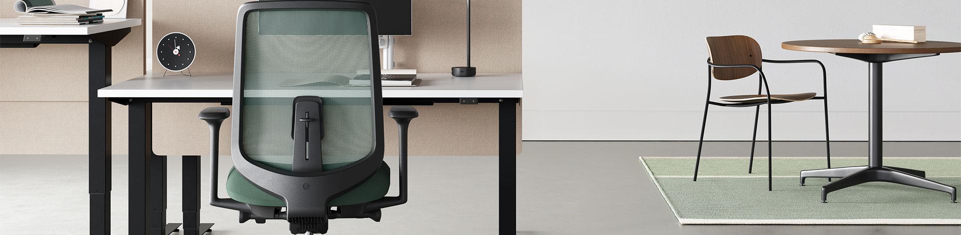 Herman Miller Verus, ergonominen designtyötuoli.